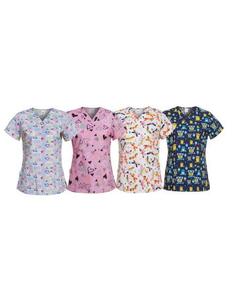 Bluza asistenta medicala pediatrie