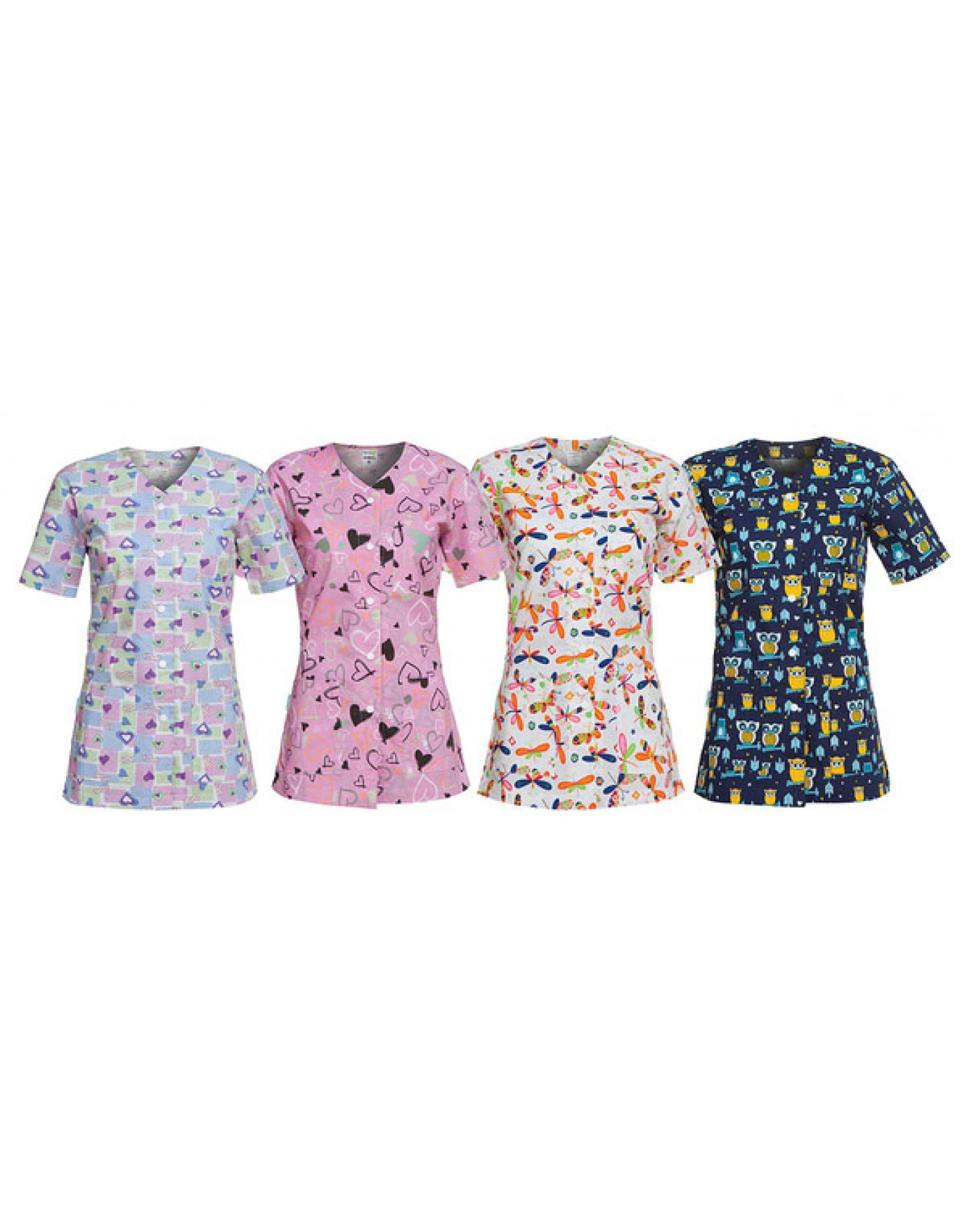 Bluza asistenta medicala pediatrie carina